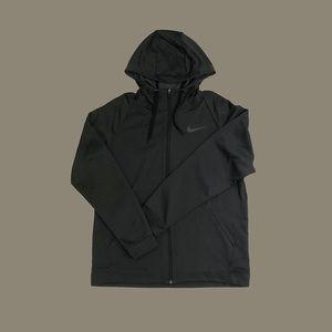 Grey Nike Athletic Fleece Hoodie Size Large